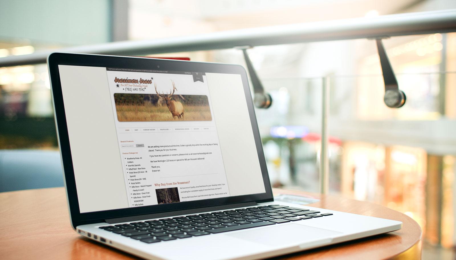 Brassman Brass eCommerce Website Development