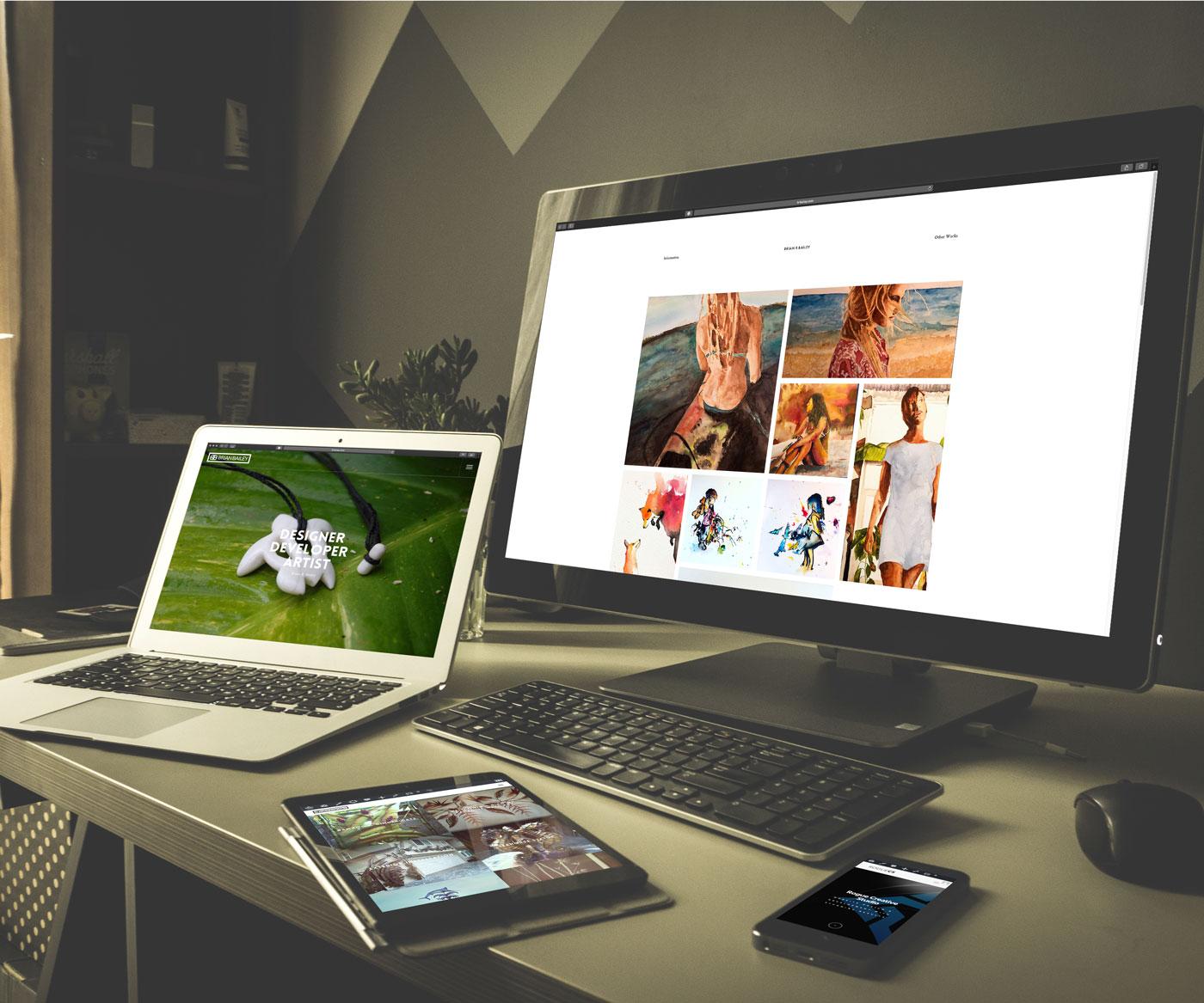 BRBailey.com Website Design and Development