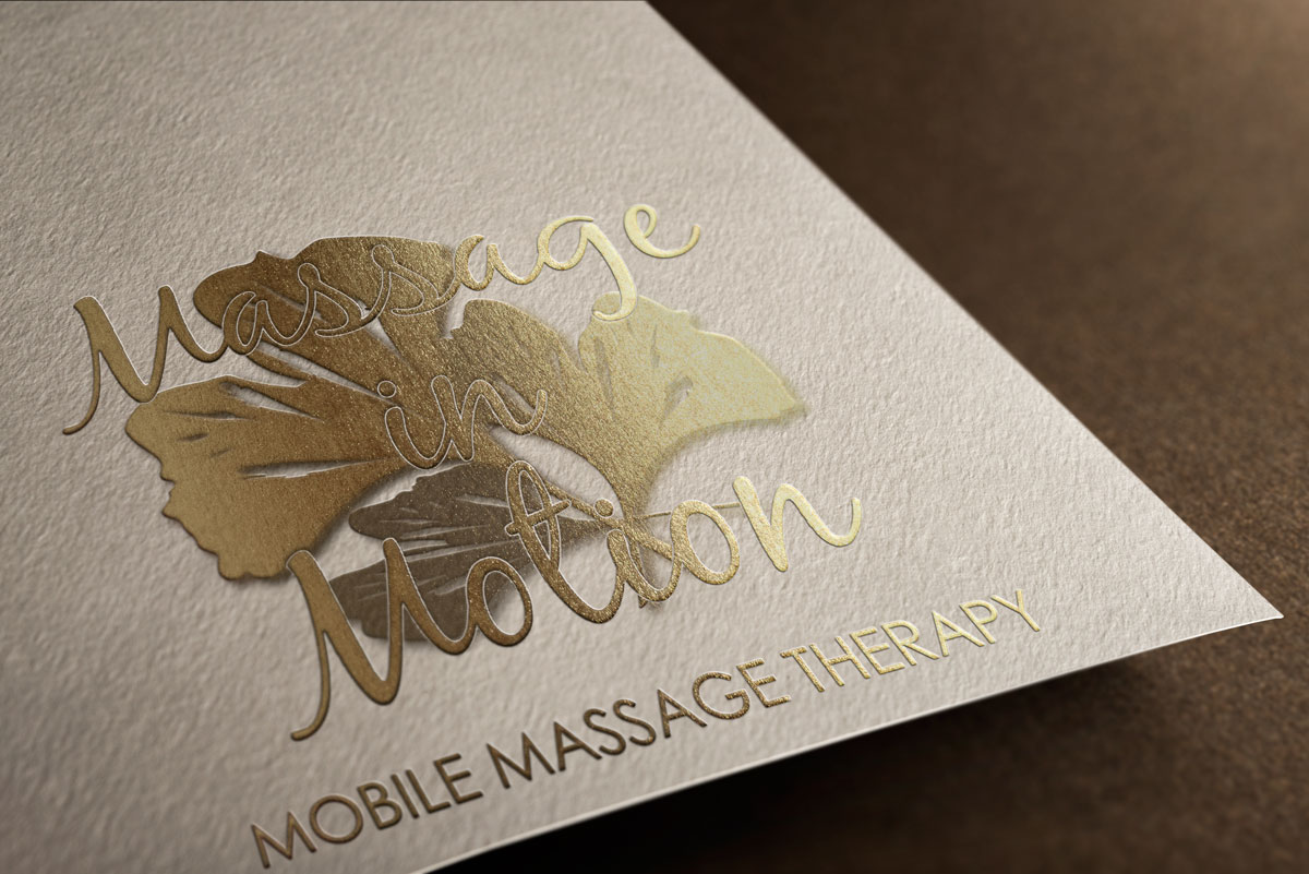 Massage in Motion Logo Design