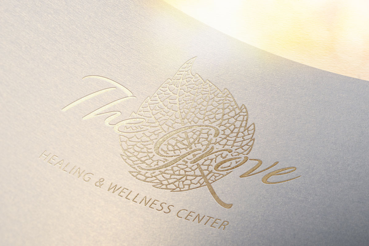 The Grove Healing & Wellness Center Logo Design