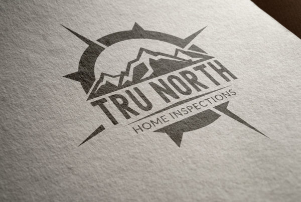Tru North Home Inspections Logo Design