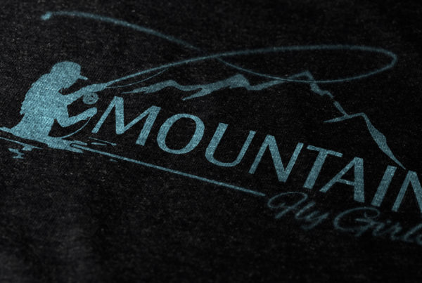 Mountain Fly Girls Logo Design